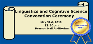 Department of Linguistics and Cognitive Science